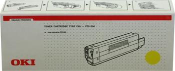 OKI Toner Cartridge C3100 yellow (42804513)
