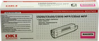 OKI Toner Cartridge C5250 magenta (42127455) 5.000 stran