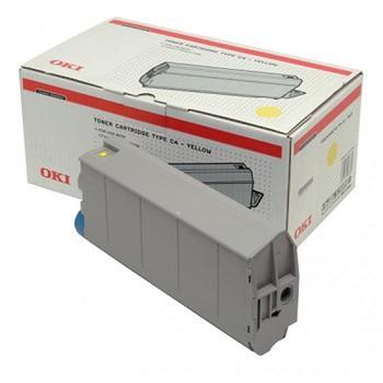 OKI Toner Cartridge C7100/7300 yellow (41963005)