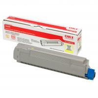 OKI Toner Cartridge C8600/C8800 yellow (43487709)