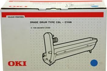 OKI Drum C3100 cyan (42126643)