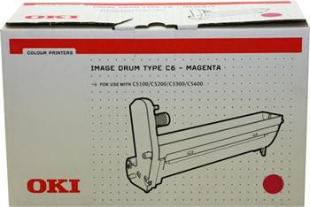 OKI Drum C5100 Type C6 magenta (42126606)