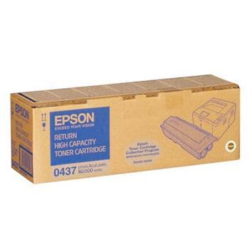 Epson Toner Cartridge S050437 black HC return