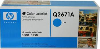 HP Toner Cartridge Q2671A cyan