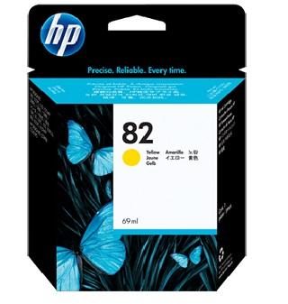 HP C4913A No.82 yellow 69ml