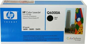 HP Toner Cartridge Q6000A black 124A
