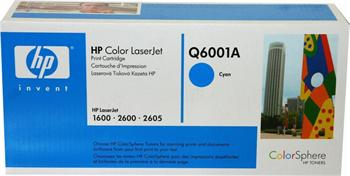 HP Toner Cartridge Q6001A cyan 124A