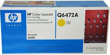 HP Toner Cartridge Q6472A yellow 502A