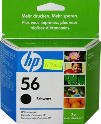 HP C6656AE No.56 black 19ml