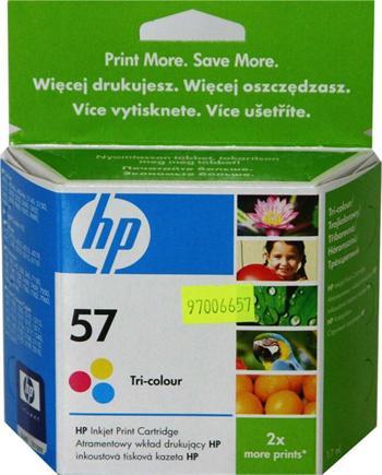 HP C6657AE No.57 tri-colour 17ml
