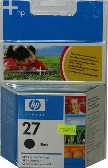HP C8727AE No.27 black 10ml