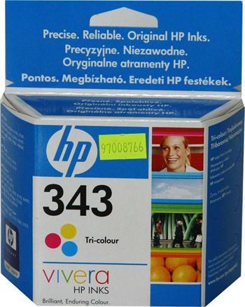 HP C8766EE No.343 tri-colour 7ml