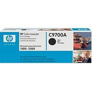 HP Toner Cartridge C9700A black