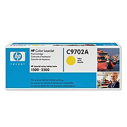 HP Toner Cartridge C9702A yellow