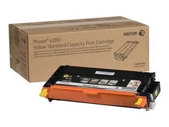 Xerox Phaser Cartridge 6280 Yellow HC (106R01402)