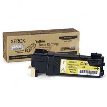Xerox Phaser Cartridge 6125 Yellow