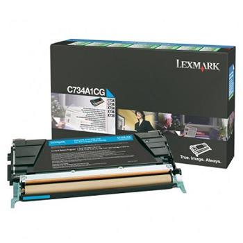Lexmark Toner C734/C736 cyan (C734A1CG)