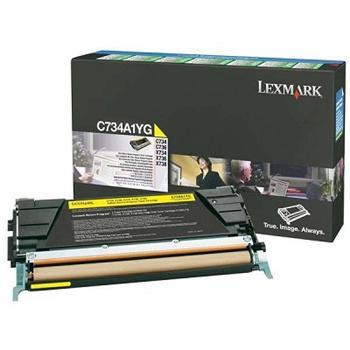 Lexmark Toner C734/C736 yellow (C734A1YG)